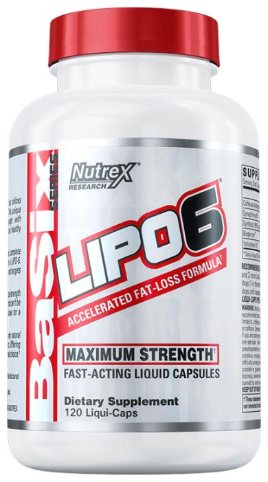 Nutrex термогеник Lipo-6 (120 шт.)