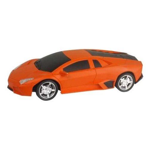 Купить Легковой автомобиль 1 TOY Спортавто (T13851/T13852/T13853) 1:24 20 см оранжевый, Радиоуправляемые игрушки