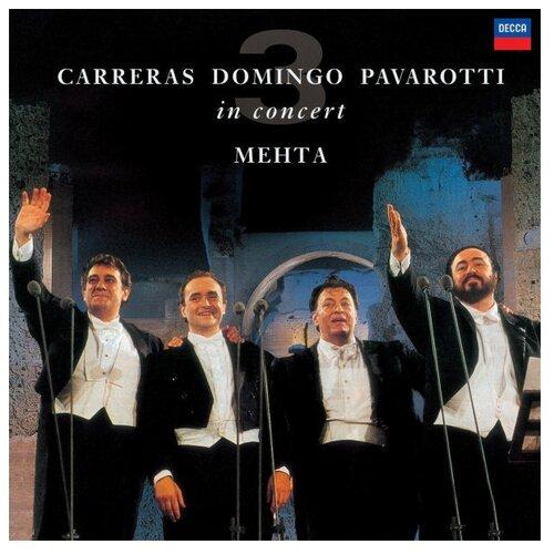 Фото - The Three Tenors. Carreras, Domingo, Pavarotti in concert (виниловая пластинка) виниловая пластинка kiss alive – the millennium concert 0602537769247