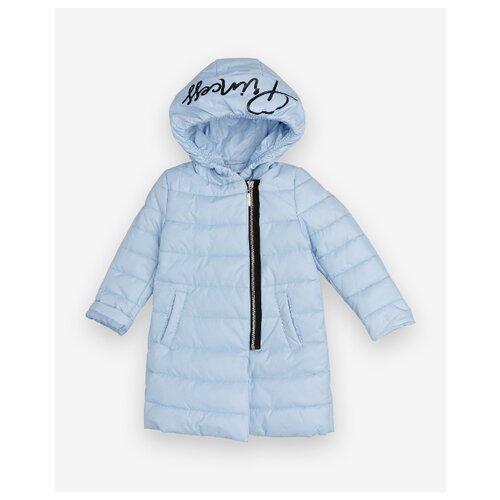 Купить Пальто Gulliver 12001GMC4501 размер 110, голубой, Пальто и плащи