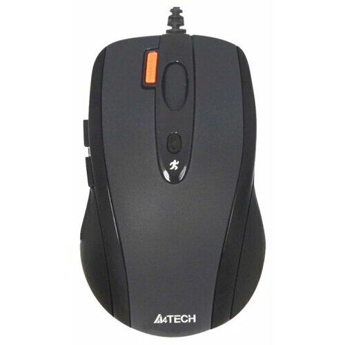 Мышь A4Tech N-70FX Black USB мышь a4tech n 360 2 black red