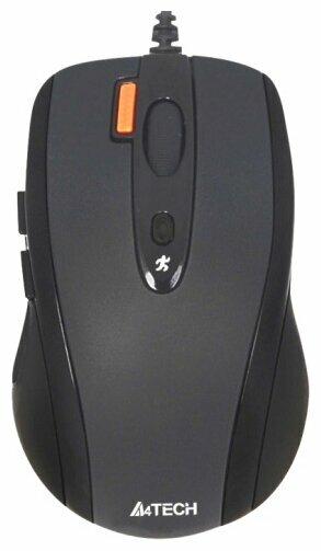 Мышь A4Tech N-70FX Black USB