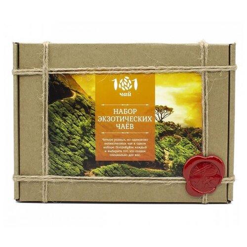 Чай 101 чай Набор экзотических чаев ассорти , 90 г фото