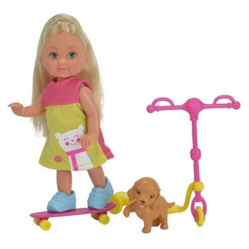 Купить Кукла Simba Еви на скутере, 12 см, 5732295-1, Куклы и пупсы