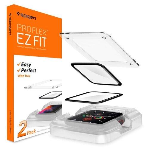 Защитное стекло Spigen ProFlex EZ Fit (AFL01220) для Apple Watch series SE/6/4/5 44mm (Black)