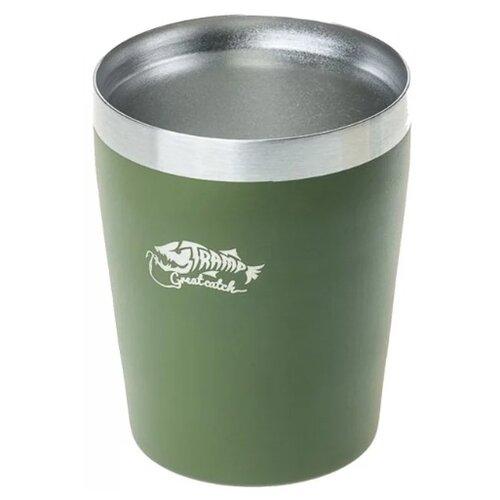 Стакан Tramp TRC-101, 0.25 л оливковый стакан hummer c tumbler оливковый