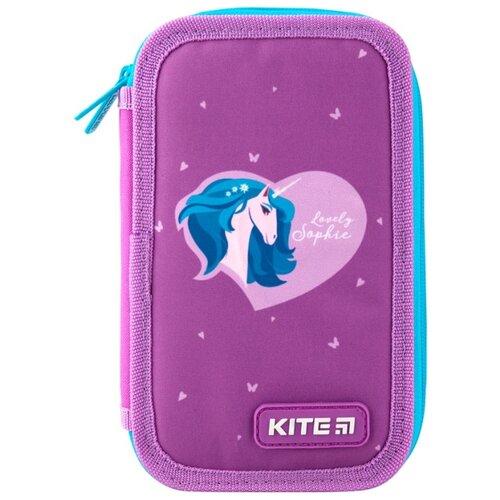 Купить Kite Пенал-книжка (K19-623-3) фиолетовый, Пеналы