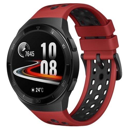 Умные часы c GPS HUAWEI Watch GT 2e red умные часы c gps huawei watch gt classic коричневый