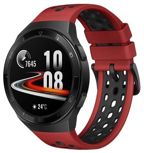 Умные часы HUAWEI Watch GT 2e, red фото 1
