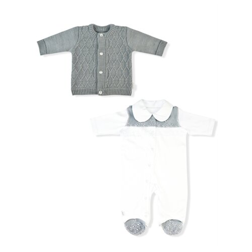 Купить Комплект одежды LEO размер 56, белый/серый, Комплекты