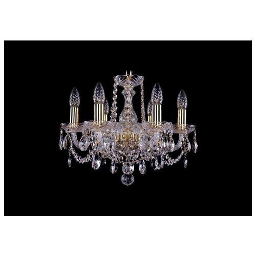 Люстра Bohemia Ivele Crystal 1402 1402/6/141/G, E14, 240 Вт bohemia ivele crystal 1402 5 141 g tube
