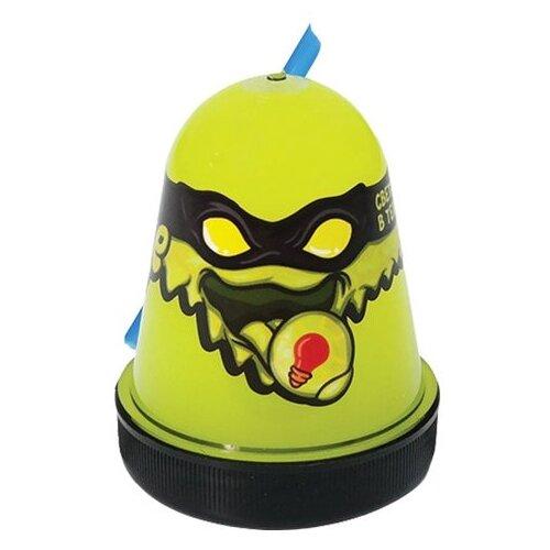 Лизун SLIME Ninja светится в темноте, желтый, 130 г (S130-19)