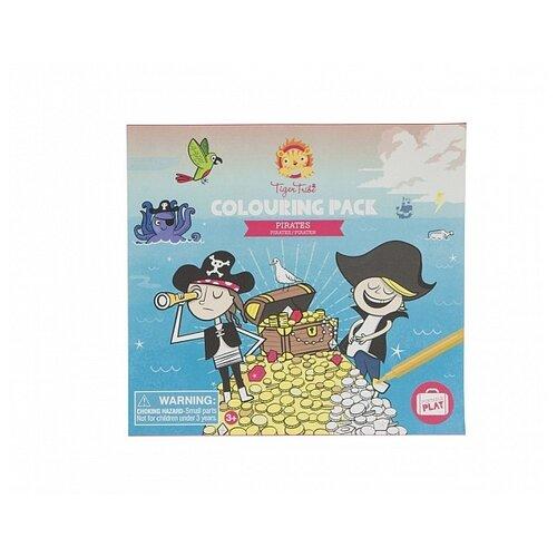 Купить Tiger Tribe Набор для рисования Colouring pack Pirates Пираты, Наборы для рисования