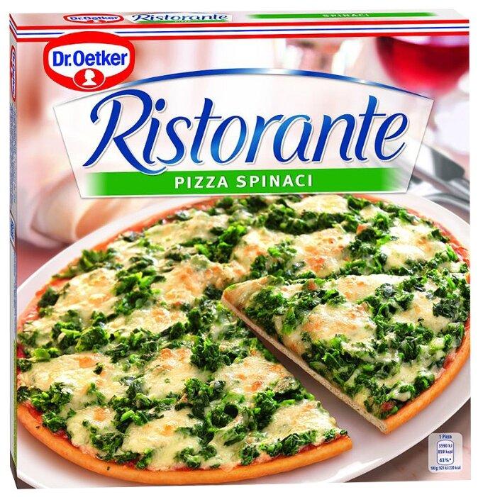 Dr. Oetker Замороженная пицца Ristorante Шпинат 390 г