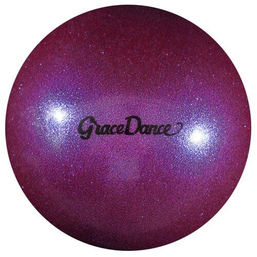 Мяч для художественной гимнастики Grace Dance 4327149 фиолетовый