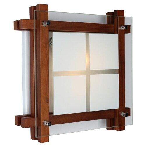 Светильник без ЭПРА Omnilux Carvalhos OML-40527-02, 28 х 28 см, E14 matrix 40527