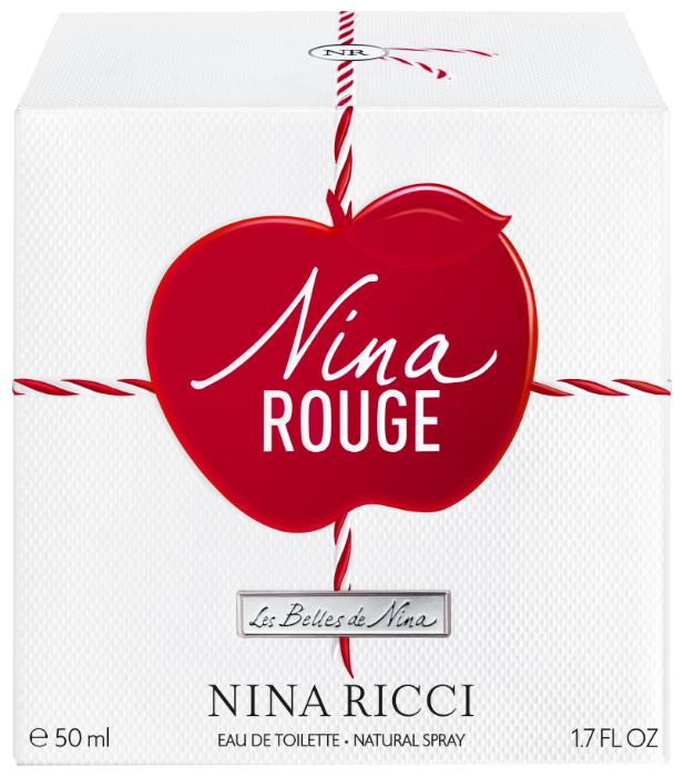 Туалетная вода NINA RICCI Nina Rouge