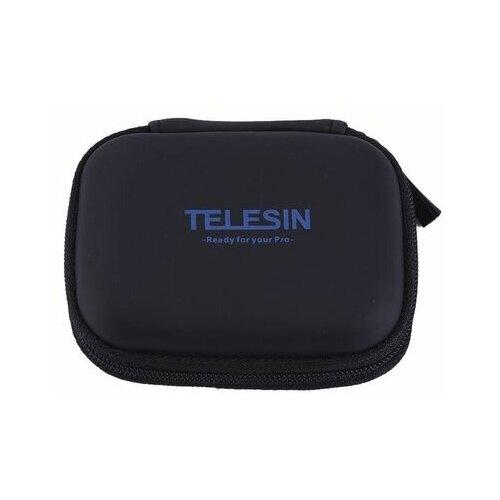 Фото - Telesin кейс для GoPro, Xiaomi, SJCAM, EKEN mini черный telesin защелка с двумя креплениями для камер и аксессуаров черный