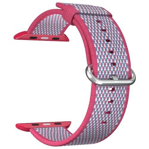 Нейлоновый ремешок для Apple Watch 42/44 mm LYAMBDA POLIS DSN-02-02A-44-RD Red ремешок для часов lyambda для apple watch 38 40 mm polis dsn 02 02a 40 rd red