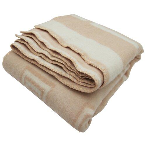 Одеяло ARLONI Пантеон шерсть, 140 х 205 см (бежевый) одеяло полутораспальное альвитек кукуруза 140 205 см