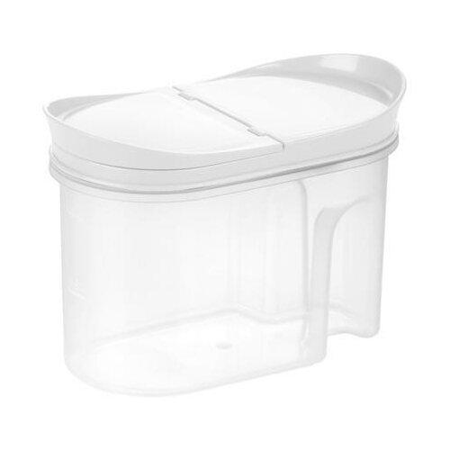Tescoma Контейнер для хранения продуктов 4Food 1000 мл прозрачный/белый хлебница tescoma 4food 896510 белый