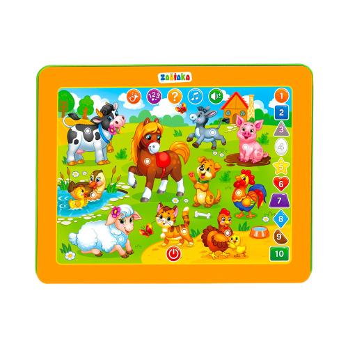 Купить Планшет Zabiaka Радужная ферма (3247077) желтый, Детские компьютеры
