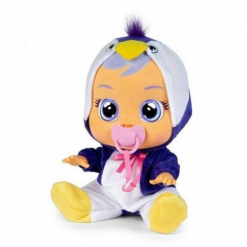 Купить Пупс IMC toys Cry Babies Плачущий младенец Pingui, 31 см, 90187, Куклы и пупсы