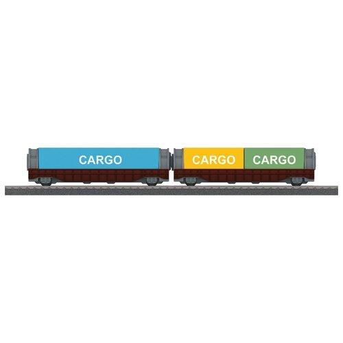 Купить Marklin Грузовые платформы, 44109, H0 (1:87), Наборы, локомотивы, вагоны