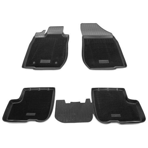 Комплект ковриков NorPlast NPA11-C94-550-CM LADA (ВАЗ) Largus 4 шт. черный