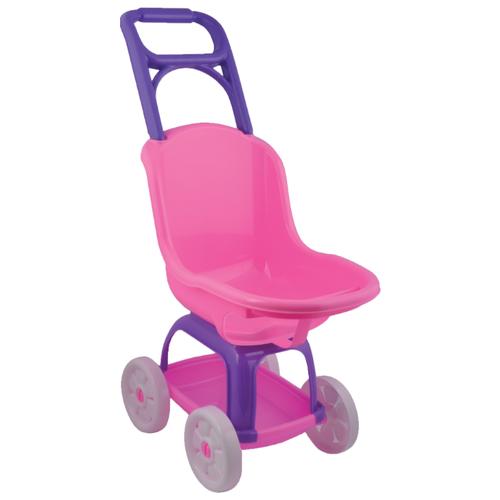Купить Прогулочная коляска Terides Т9-049 розовый/фиолетовый, Коляски для кукол