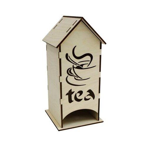 Купить Astra & Craft Деревянная заготовка для декорирования чайный домик Чай L-442 береза, Декоративные элементы и материалы