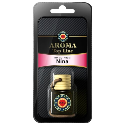 AROMA TOP LINE Ароматизатор для автомобиля 3D Aroma №12 Nina Ricci Nina 6 мл