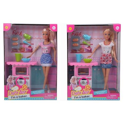 Кукла Defa Lucy Кондитер, 8421 кукла defa lucy русалка 8433df