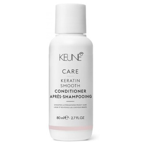 Keune шампунь Care Keratin Smooth, 80 мл keune шампунь care keratin smooth shampoo кератиновый комплекс 1000 мл