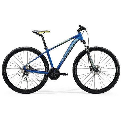 Горный (MTB) велосипед Merida Big.Nine 20-D (2020) silk medium blue/silver/yellow 20