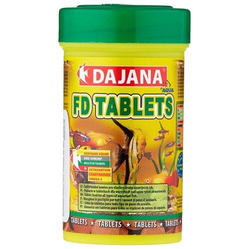 Сухой корм для рыб Dajana Pet FD Tablets 100 мл 50 г