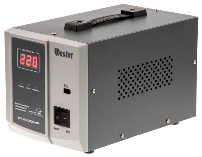Стабилизатор напряжения однофазный Wester STW-2000NP (1.6 кВт)