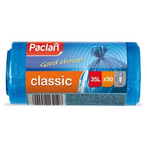Мешки для мусора Paclan 35 л (50 шт.) синий