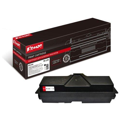 Фото - Картридж лазерный Комус TK-130 черный, для Kyocera S-1300D/1300DN картридж лазерный комус tk 580k черный для kyocera fs c5150dn