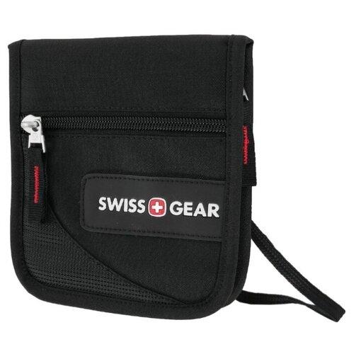 Нагрудный кошелек SWISSGEAR SA18312168 черный цена 2017