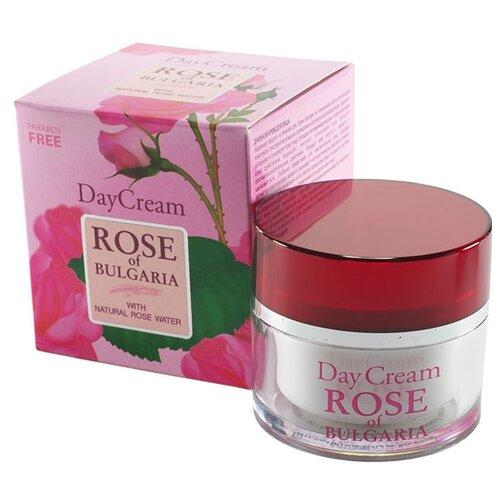 Фото - Rose of Bulgaria Day Cream with natural rose water Крем для лица дневной, 50 мл крем librederm rose de rose насыщенный возрождающий дневной 50 мл