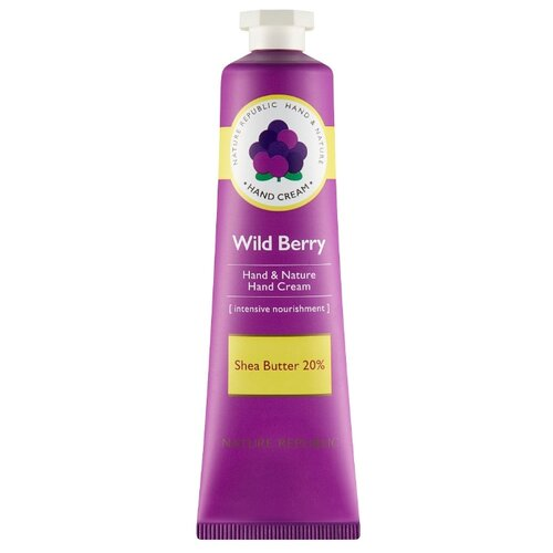 Крем для рук Nature Republic Hand&Nature Wild berry 30 мл платье love republic love republic lo022ewpdo73