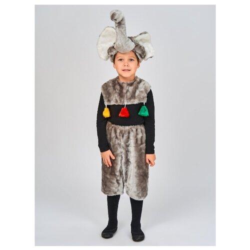 Купить Костюм Радомир Слоник (С1019), серый, размер 104-134, Карнавальные костюмы