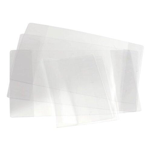 Топ-спин Обложка для тетрадей и дневников 212х350 мм, 110 мкм, 100 шт. прозрачный