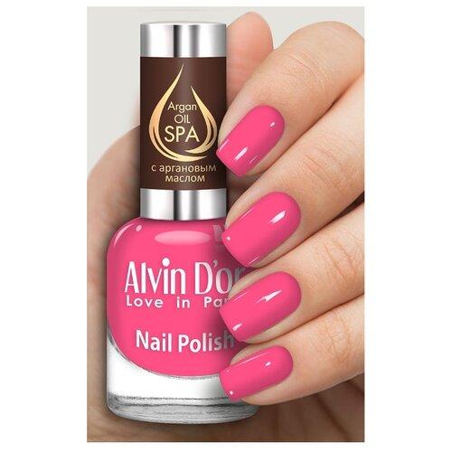 Лак Alvin D'or SPA Argan Oil, 15 мл, оттенок 5012 лак alvin d or spa argan oil 15 мл оттенок 5036