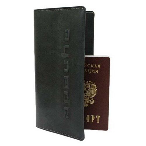 Бумажник путешественника Apache ВОЯЖ-А, черный