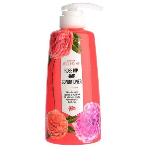 Фото - Around me кондиционер для волос Rose Hip Hair Conditioner с розой, 500 мл кондиционер для белья nihon softener premium rose 500 мл