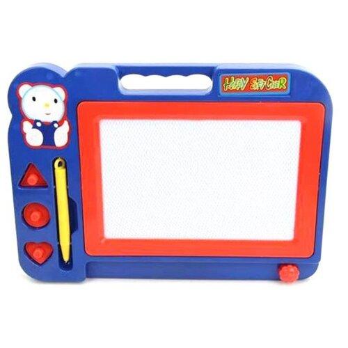 Фото - Доска для рисования Наша игрушка (DS-206) синий/красный растяжка наша игрушка 2203 красный желтый синий