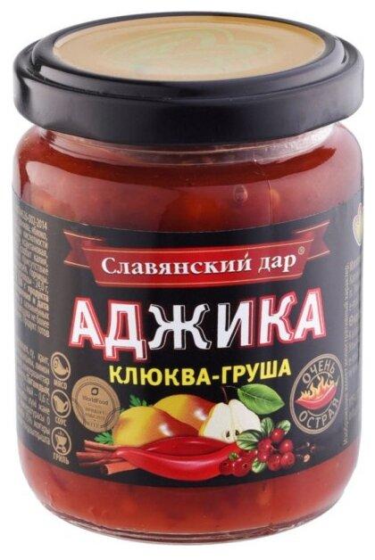 Аджика Славянский дар Клюква-груша, 170 г