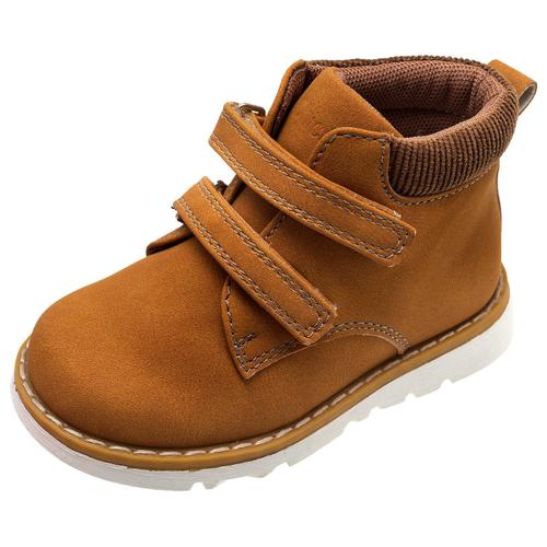 Ботинки Chicco размер 23, желтый/коричневый ботинки chicco размер 21 синий